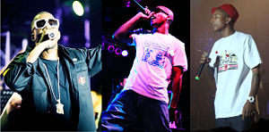 Kanye West, Lupe Fiasco, Pharrell Williams