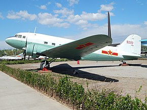 Chinese Air Force C-47, Beijing Aviation Museum (25869589864).jpg