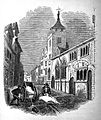 Cholera in Exeter; removing infected clothing. Wellcome L0008614.jpg