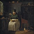 Christen Dalsgaard - Christmas Morning in a Farmhouse - KMS540 - Statens Museum for Kunst.jpg