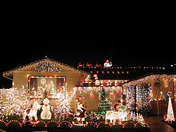 Indoor Window Christmas Lights