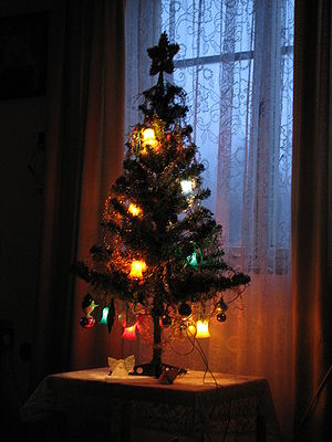 Christmas tree-czech
