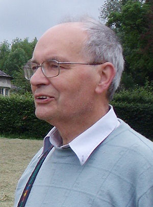 World Esperantist Vegetarian Association - Christopher Fettes, photographed at his estate in Ireland in 2011.