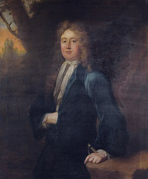 Christopher Wandesford, 2nd Viscount Castlecomer - Christopher Wandesford, 2nd Viscount Castlecomer (ca 1683-1719) by Michael Dahl, (1659-1743)