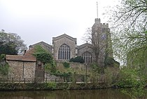 Church by the River Medway, Maidstone - geograph.org.uk - 1264770.jpg