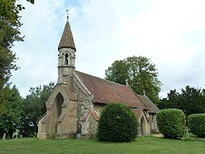 Billington, Bedfordshire - Image: Church of Saint Michael and All Angels Great Billington Geograph 3109439 by Mr Biz