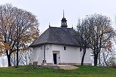 https://upload.wikimedia.org/wikipedia/commons/thumb/e/ec/Church_of_St._Benedict_of_Nursia%2C_Stawarza_street%2C_Podgorze%2C_Krakow%2C_Poland.jpg/240px-Church_of_St._Benedict_of_Nursia%2C_Stawarza_street%2C_Podgorze%2C_Krakow%2C_Poland.jpg