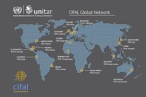 CIFAL - CIFAL Centres Around the World