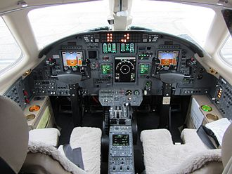 Cessna Citation Excel - Cessna 560XL cockpit