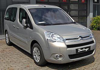 Citroën Berlingo - Image: Citroën Berlingo II front
