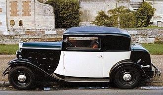 Citroën - 1933 Citroën Rosalie Coupe 15CV