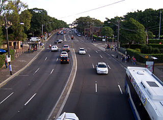City Road, Sydney road in New South Wales, Australia