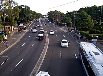 City Road, Sydney - Image: Cityroadsyd