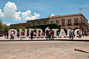 Centro histrico de Santiago de Quertaro  Wikipedia la