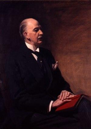 Frank O. Salisbury - Clarence Winthrop Bowen (1852-1935), 1928, by Frank O. Salisbury (1874-1962), American Antiquarian Society