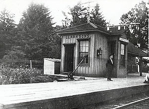 Clarkson GO Station - Image: Clarksons railway station