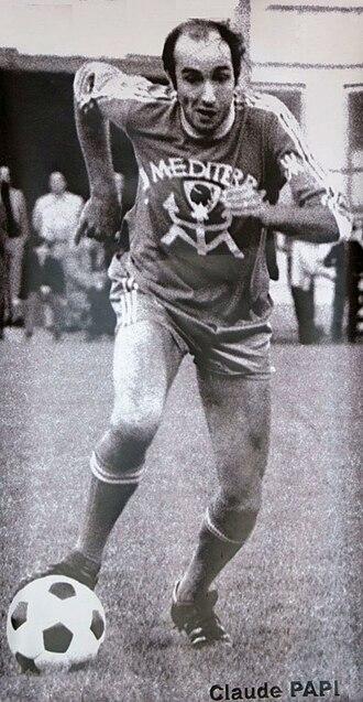 SC Bastia - Claude Papi, 1978.
