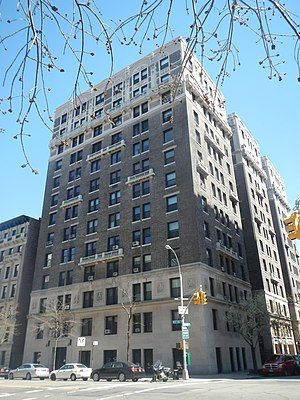 Cleburne Building - Image: Cleburne bldg West End Av & 105 St jeh