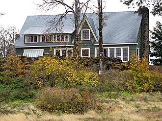 National Register of Historic Places listings in Hood River County, Oregon - Image: Cliff Lodge (Hood R Iver, OR)
