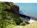 Cliffs and stairs, Heligoland.jpg