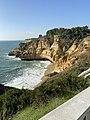 Cliffside beside the restaurant 'Mar d'Fora,' Carvoeiro, Portugal. .jpg