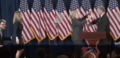 Clinton walking on state to deliver her concession speech 05.png