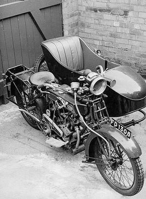 Clyno - A Clyno combination motorcycle