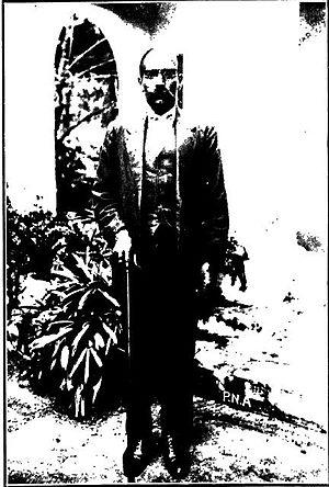 C. Natesa Mudaliar - Natesa Mudaliar in 1934