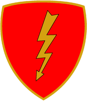 Folgore Mechanized Division - Coat of Arms of the Folgore Mechanized Division
