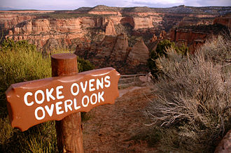 Colorado National Monument - The Coke Ovens Overlook is one of the many picturesque views in the park