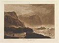 Coast of Yorkshire, Near Whitby (Liber Studiorum, part V, plate 24) MET DP821394.jpg
