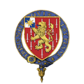 Coat of Arms of Sir William Slim, KG, GCB, GCMG, GCVO, GBE, DSO, MC, KStJ.png