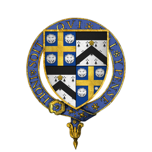 William Kingston - Arms of Sir William Kingston, KG