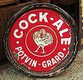 Cock-Ale Potvin-Grard beer tray.JPG