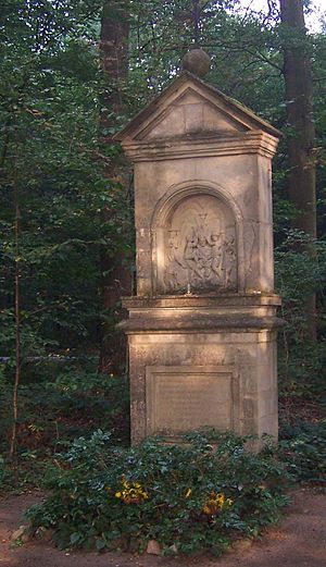 Coesfeld - One of the 18 stations of the cross in Coesfeld, erected in Galen's time by his Danish architect Pieter Pictorius.