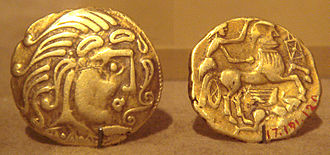 Celtic coinage - Celtic coin designs progressively became more abstract as exemplified by the coins of the Parisii.