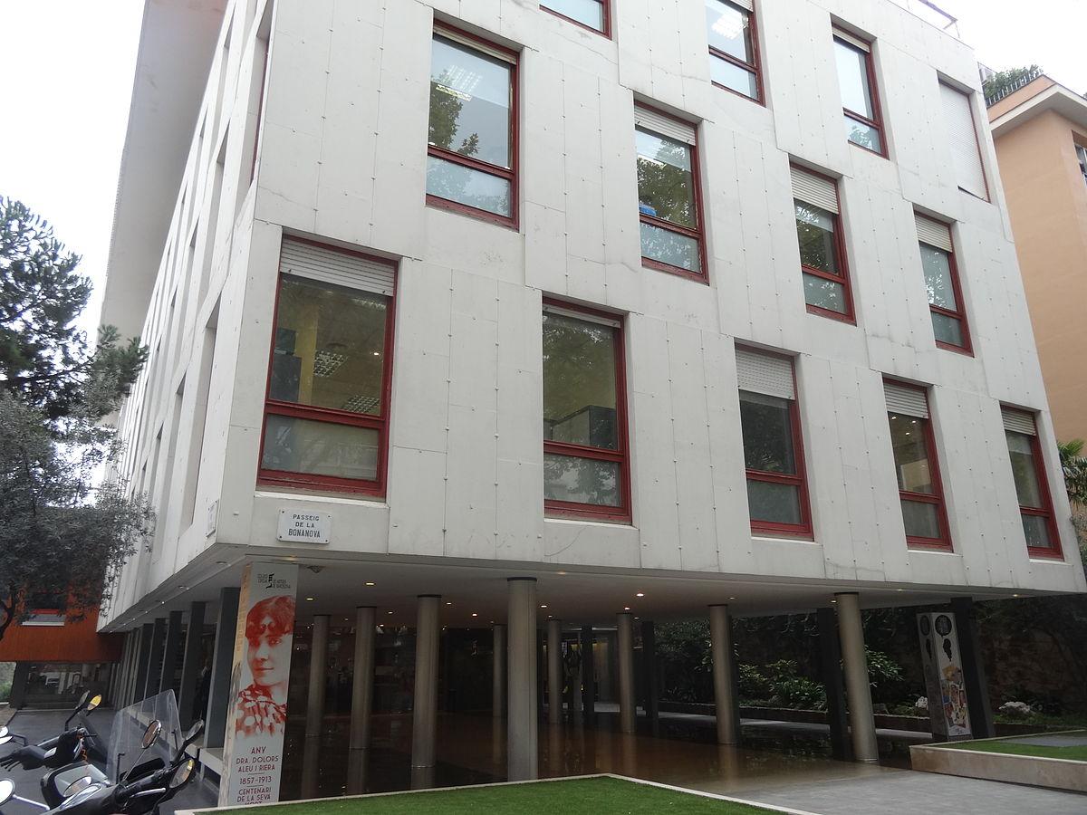 Colegio oficial de m dicos de barcelona wikipedia la - Colegio delineantes barcelona ...