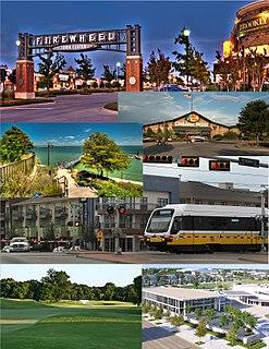 Urban area in Texas, United States