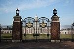 College Hall gates, RAF Cranwell (geograph 2663415).jpg