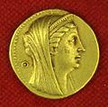 Collezione di william currie 14 egitto, tolomeo II, octodracma con arsiinoe II, 253 (o 252)-246 ac.JPG