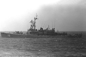 USS Hartley (DE-1029) - Hartley as Colombian Boyaca (DE-16) in 1979.