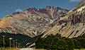 Colorful cliffsides in Nature Reserve Cerro Castillo, Chile.jpg
