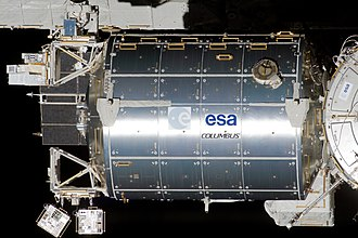 Columbus (ISS module) - The Columbus Module on the International Space Station
