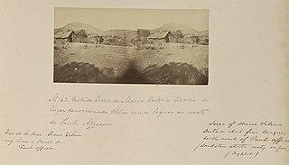 Vista de Serra de Maria Valéria tirada do lugar denominado Retero cinco léguas ao oeste de Paulo Affonso