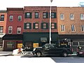 Commercial block proposed for demolition, 347-357 N. Calvert Street, Baltimore, MD 21202 (39389011354).jpg