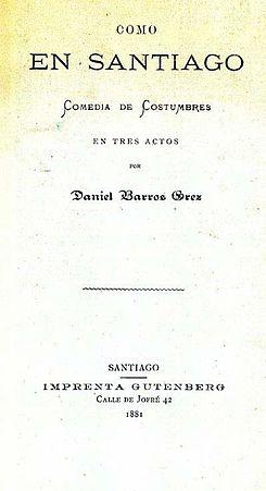 Daniel barros grez como en santiago pdf