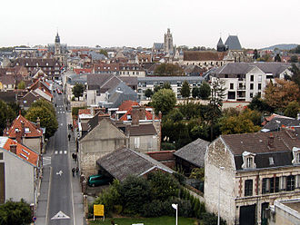 Compiègne - View of Compiègne