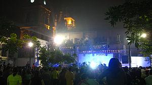 Santa Cruz de la Sierra - Concert in Manzana Cero.
