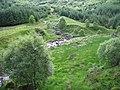 Confluence of Allt Coire Cheathaich and Monachyle Burn - geograph.org.uk - 484251.jpg