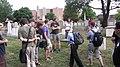 CongressionalCemeteryTour-Wikimania2012-Rehman (5).JPG